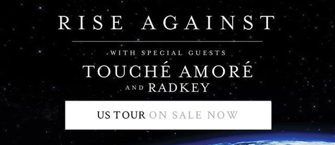 Win Tickets to See Rise Against with Touche Amore at the Tower Theater, Oct. 1