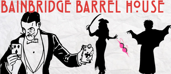 Bainbridge Street Barrel House Hosts a Magical Halloween Party with South St. Magic Shop and The Whiskey Kittens, Oct. 31