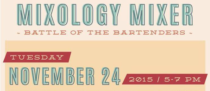 Vote for Your Favorite Cocktail at the Mixology Mixer at The Market & Shops at Comcast Center, Nov. 24
