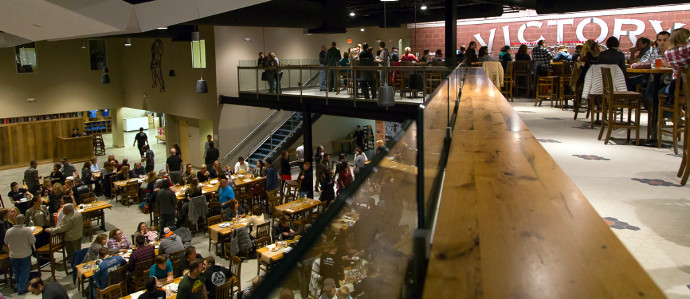 Victory's Newest Brewpub Is Now Open in Parkesburg