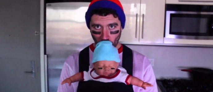 Creep Out All Your Friends with a Fake Baby Filled with Booze