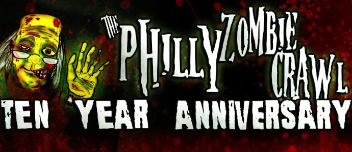 Join the Ranks of the Undead for the 10th Annual Philly Zombie Crawl, April 5