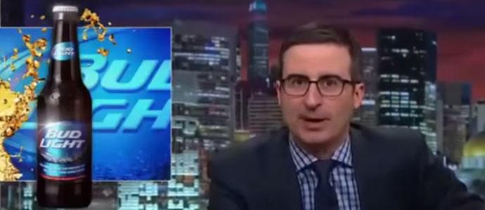 John Oliver Destroys Bud Light on 'Last Week Tonight'