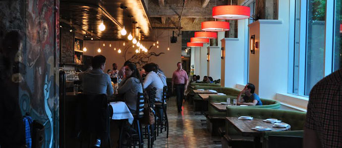 Brick and Mortar Brings Cocktails and Creative Bar Fare to the Loft District