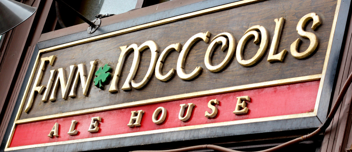 Take a Load Off at Finn McCool's Final Industry Night on 2015, Nov. 22