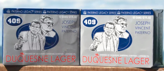 Joe Paterno Legacy Lager to Hit PA and NJ Shelves Soon
