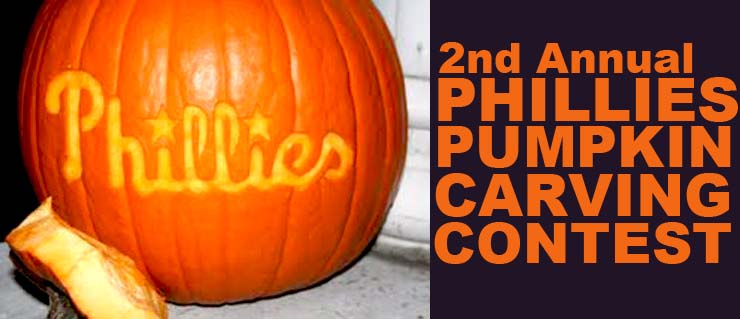 2nd annual phillies pumpkin carving contest drink philly Pumpkin carving beer