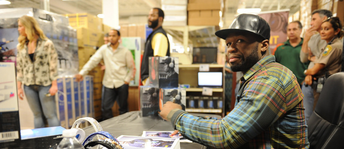 50 Cent Will Be Signing Bottles of Vodka in Philly on April 23