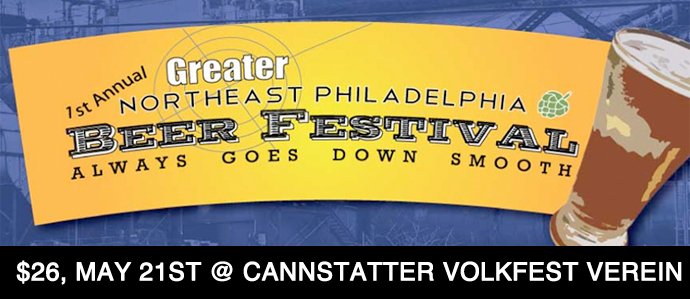 5/21: 1st Annual Greater Northeast Beer Festival is Coming to Town!