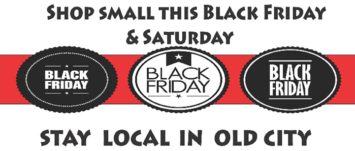 Stay Local in Old City This Black Friday and Small Business Saturday, Nov. 28 & 29