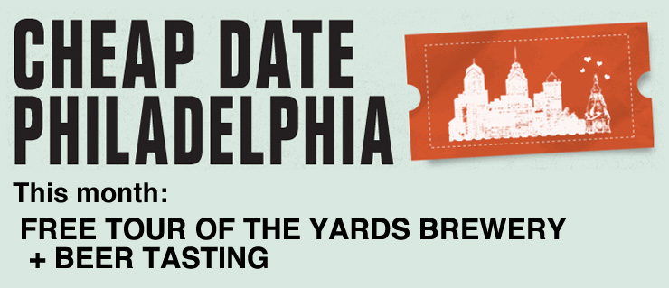 Free Tour of the Yards Brewery + Beer Tasting