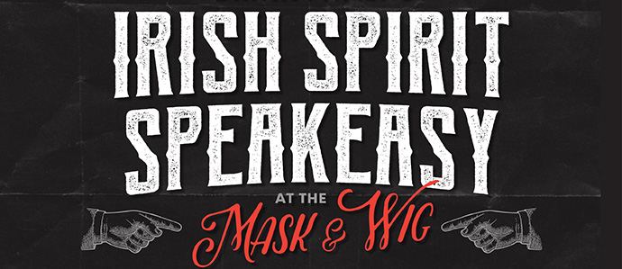 Get in the Irish Spirit at Drink Philly's Irish Spirit Speakeasy, March 9