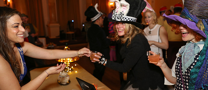 Drink Philly's Mad Hatter Whiskey Tea Party Returns to Stotesbury Mansion, Feb 29