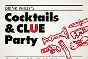 Figure Out 'Whodunit' at Drink Philly's Cocktails & Clue Party, October 20