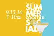 Join Drink Philly & Beam Suntory For The Summer Cocktail Social, September 15