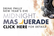 Ring in the New Year on the Waterfront at Drink Philly's New Year's Eve Midnight Masquerade