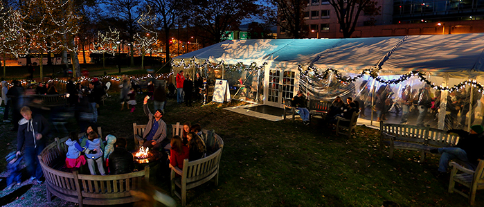 Seasonal Beer Tent at Franklin Square's Electrical Spectacle Every Thursday through Sunday, Nov 28 - Dec 31