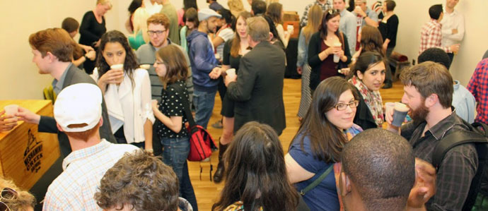 Recap: Drink Philly's May First Friday at the Hamilton Family Arts Center (PHOTOS)