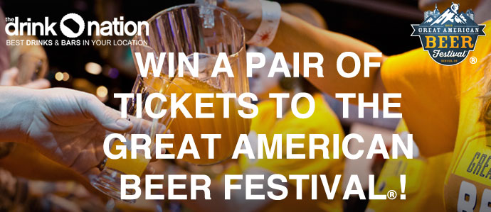 Win Tickets to Great American Beer Festival!