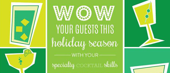 Free Holiday Mixology Mixer at The Market and Shops at Comcast Center, Tue. Nov 25