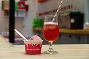 You Can Drink 'Rose Sorbet All Day' All Summer at The Bourse with Taps Fill Station & Scoop DeVille