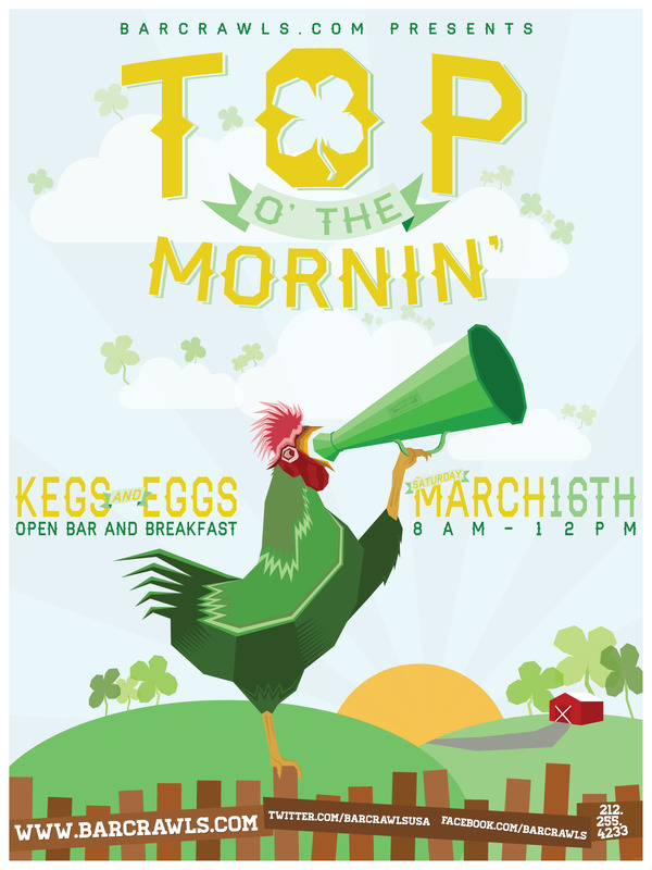 Top O' The Mornin' St. Patrick's Day Party