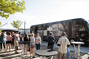 Check Out The Wild Turkey Tour Bus Free Education and Sampling Event at La Peg, August 9
