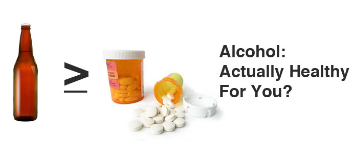Alcohol: Actually Healthy For You?