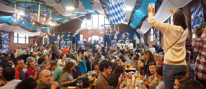 Brauhaus Schmitz Hosts Giant Oktoberfest Celebrations at the 23rd Street Armory, Oct 18-19