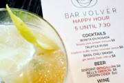 The New Bar Menu at Volver Features Impressive, Savory Cocktails