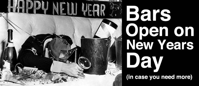 bars open new years day