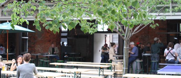 Beer Gardens in Philadelphia