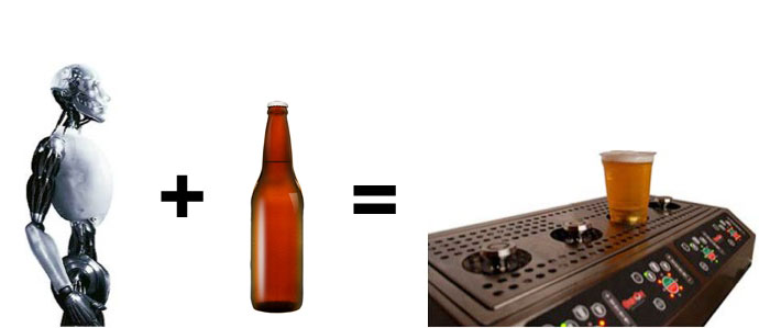 Finally, A Machine That Pours Beer For Us
