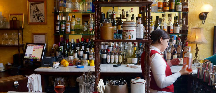 Philly's Best Happy Hours: Bistrot La Minette's $3 Wines, $4 Kirs, & Half-Priced First Courses