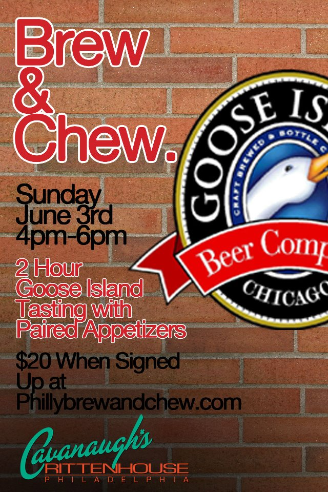 Brew & Chew with Goose Island