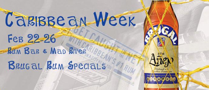 Caribbean Week with Brugal Rum: Feb 22-26