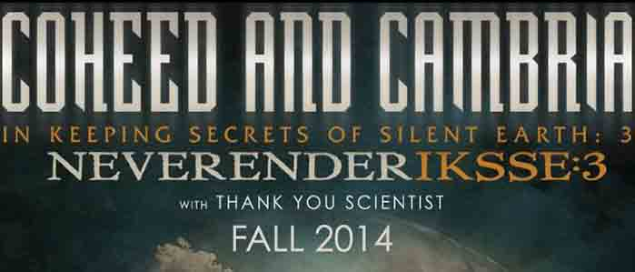 Win Tickets to See Coheed and Cambria and Thank You Scientist at the Tower Theater, Sept 24!