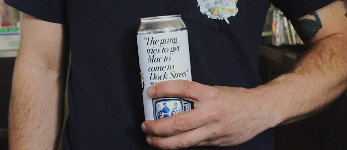 Dock Street Brewery is Releasing An 'Always Sunny' Themed Beer For the Season Finale, November 7