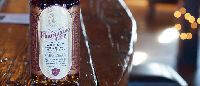 New Liberty Releases Fortunato's Fate, A Rye Whiskey Aged in Sherry Casks