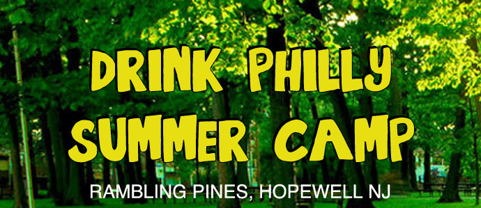 Fun in the Sun: Join Us for the First-Ever Drink Philly Summer Camp, Sat., Aug. 23