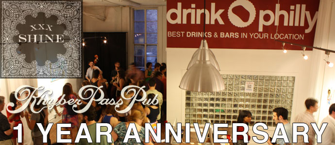 First Friday August: 1 Year Anniversary with Shine Whiskey & Khyber Pass Pub