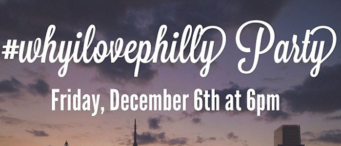 December First Friday #whyilovephilly Party at the Hamilton Family Arts Center