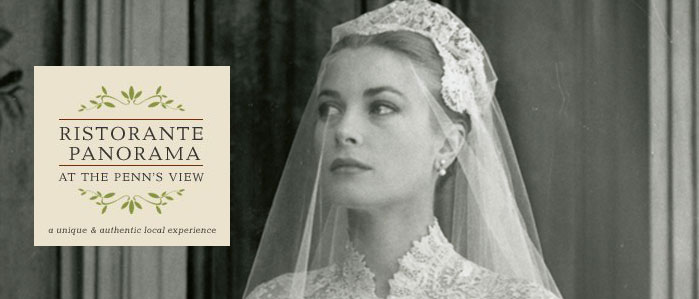 Lunch with Grace: Ristorante Panorama Luncheon with Trip to Grace Kelly Art Exhibit at Michener Art Museum, Dec 19