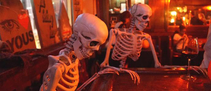 Get Spooked at Haunt, The New Halloween-Themed Pop-Up Bar From the Team Behind Townsend & Oloroso