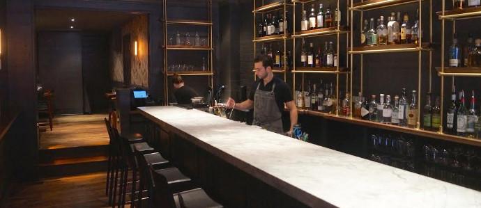 Nick Elmi of Laurel Launches New Bar, ITV: Inside Look