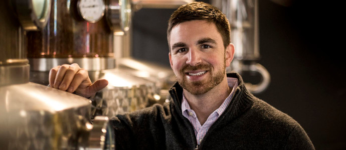 Behind the Bar: Jared Adkins of Bluebird Distilling