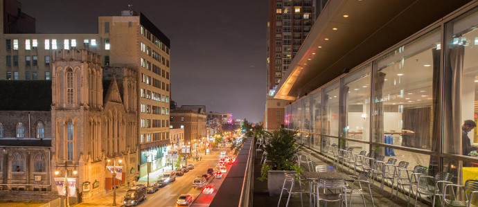 The Kimmel Center Will Have a Balcony Bar This Summer