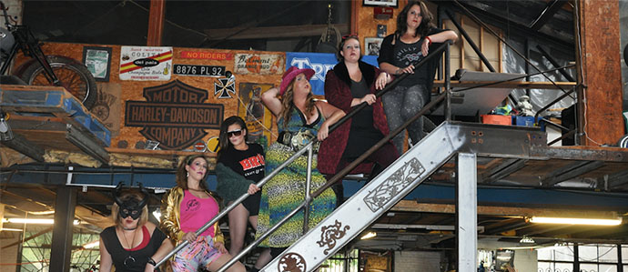 Watch the Ladies of Philly Beer Battle in the Arm Wrestling Arena, October 22