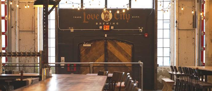 Love City Brewing Opens Behind Union Transfer