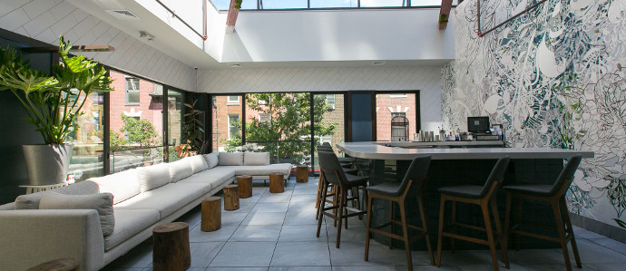 Maison 208, With a Retractable Roof, is Now Open in Midtown Village